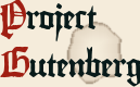 Logo for Project Gutenberg